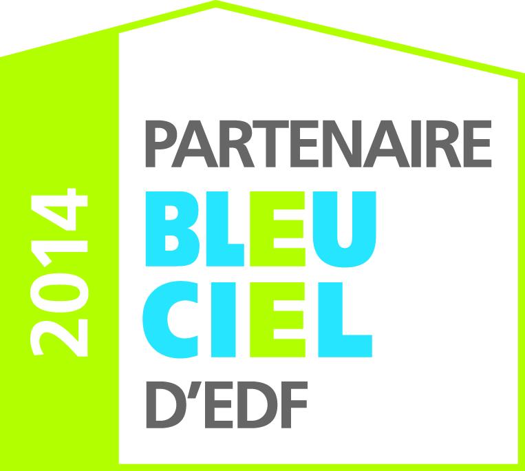 Partenaire Bleu Ciel d'EDF 2014