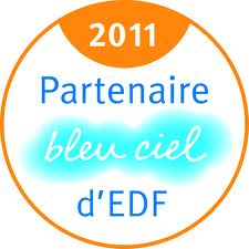 Partenaire Bleu Ciel d'EDF 2011