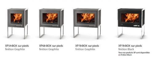 Poêle cheminée XP-BOX